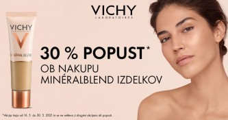 Vichy MineralBlend izdelki 30 % ugodneje