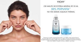 50 % popusta na Vichy Aqualia Thermal ob nakupu Mineral 89