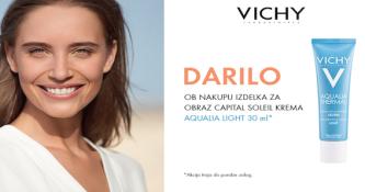 Ob nakupu izdelka za obraz Vichy Capital Soleil prejmete darilo