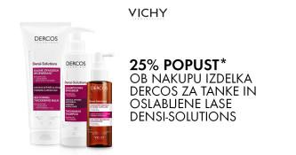 Vichy Dercos Densi-Solutions 25 % ugodneje