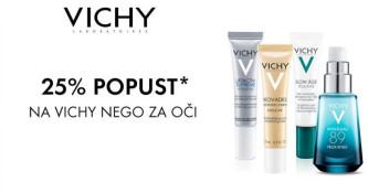 25 % popusta na Vichy nego za oči