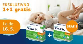Waya D3 kapljice 1 + 1 gratis