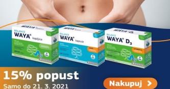 15 % popusta na vse Medis Waya izdelke