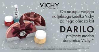 Darilo ob nakupu izdelka Vichy za nego obraza