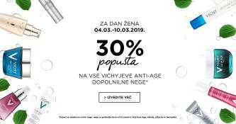 Izbrani izdelki Vichy 30 % ugodneje