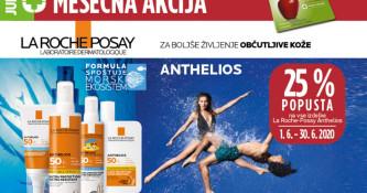 La Roche-Posay Anthelios 25 % ugodneje