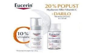 20% popusta na Eucerin Hyaluron-Filler Vitamin C booster