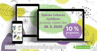 Spletna Lekarna Ljubljana praznuje
