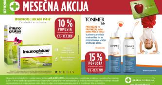Izbrani izdelki Imunoglukan 10 % ugodneje