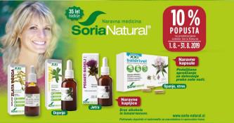 Izbrani izdelki Soria Natural 10 % ugodneje
