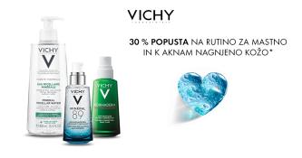 Izdelki Vichy 30 % ugodneje