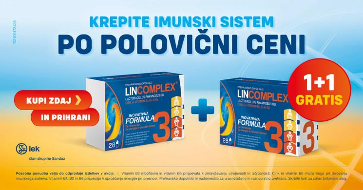 Lincomplex 1 + 1 gratis