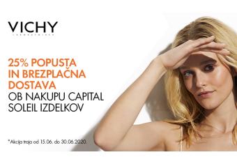 Izdelki Vichy Capital Soleil 25 % ugodneje