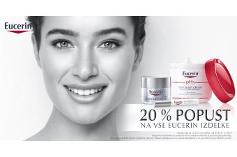 Kozmetična linija Eucerin 20 % ugodneje