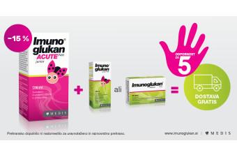 Imunoglukan P4H Acute Junior sirup 15 % ugodneje