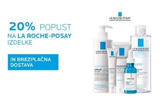 Izdelki La Roche-Posay 20 % ugodneje