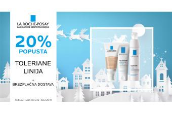 La Roche-Posay Toleriane 20 % ugodneje + brezplačna dostava
