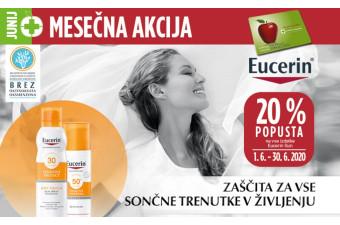 Izdelki Eucerin Sun 20 % ugodneje