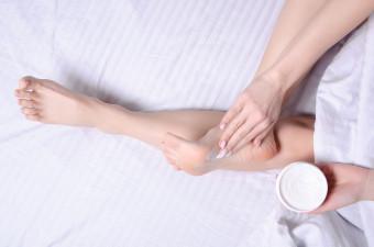 Nega suhe kože stopal