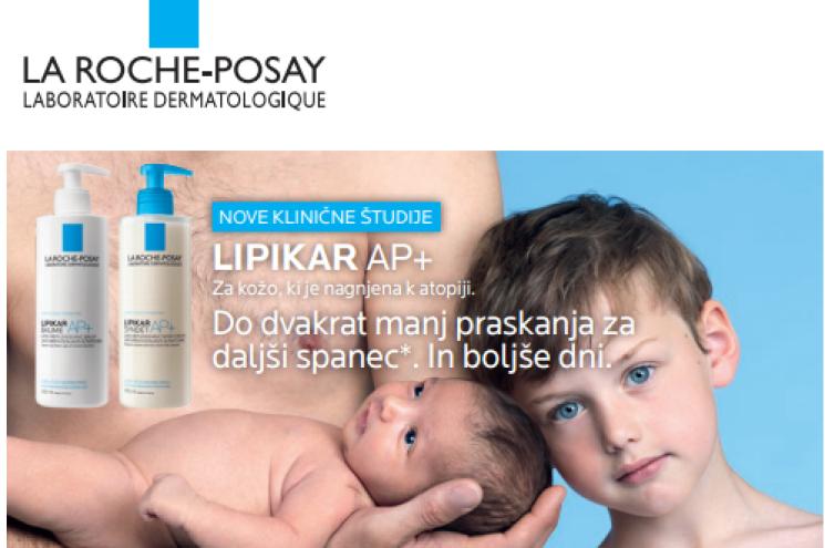 Brezplačna dostava ob nakupu La Roche-Posay Lipikar izdelka