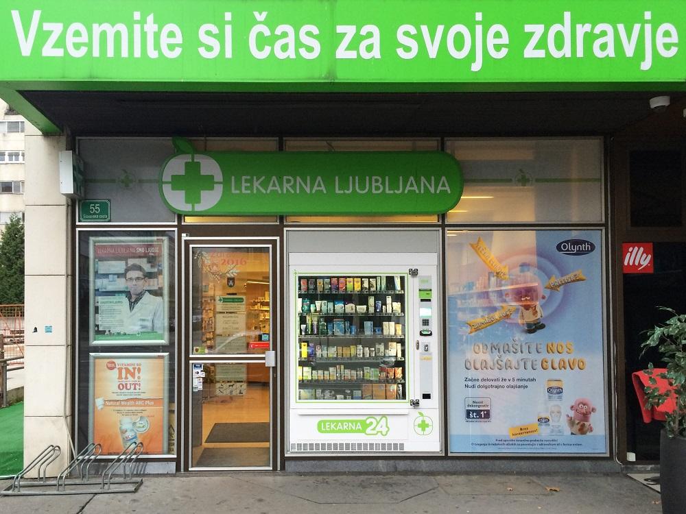 Lekarna24 Bavarski dvor - samopostrežni avtomat